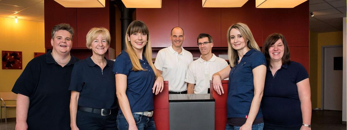 Praxisgemeinschaft Schwall Hermes: Praxis Team